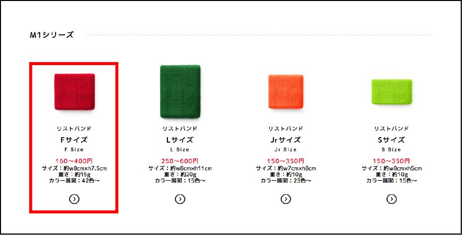 step01. 商品一覧から加工する商品を選ぶ