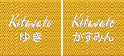 【0023】チーム刺繍/M-32 タンポポ/Fサイズ※シミュレーション画像