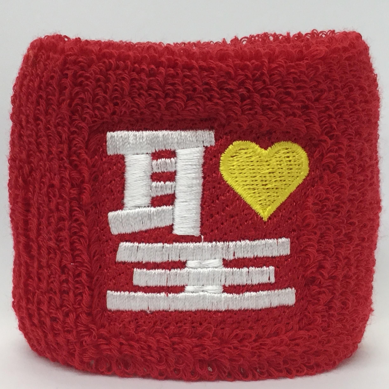 【0037】オリジナル刺繍/M1-21 赤/Fサイズ