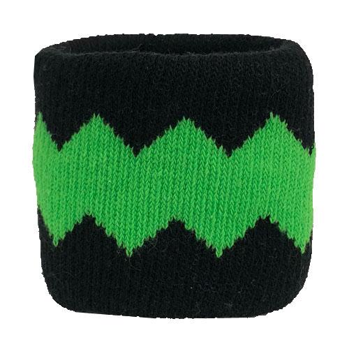 【0052】<br>ジャガード織り加工<br>黒×緑