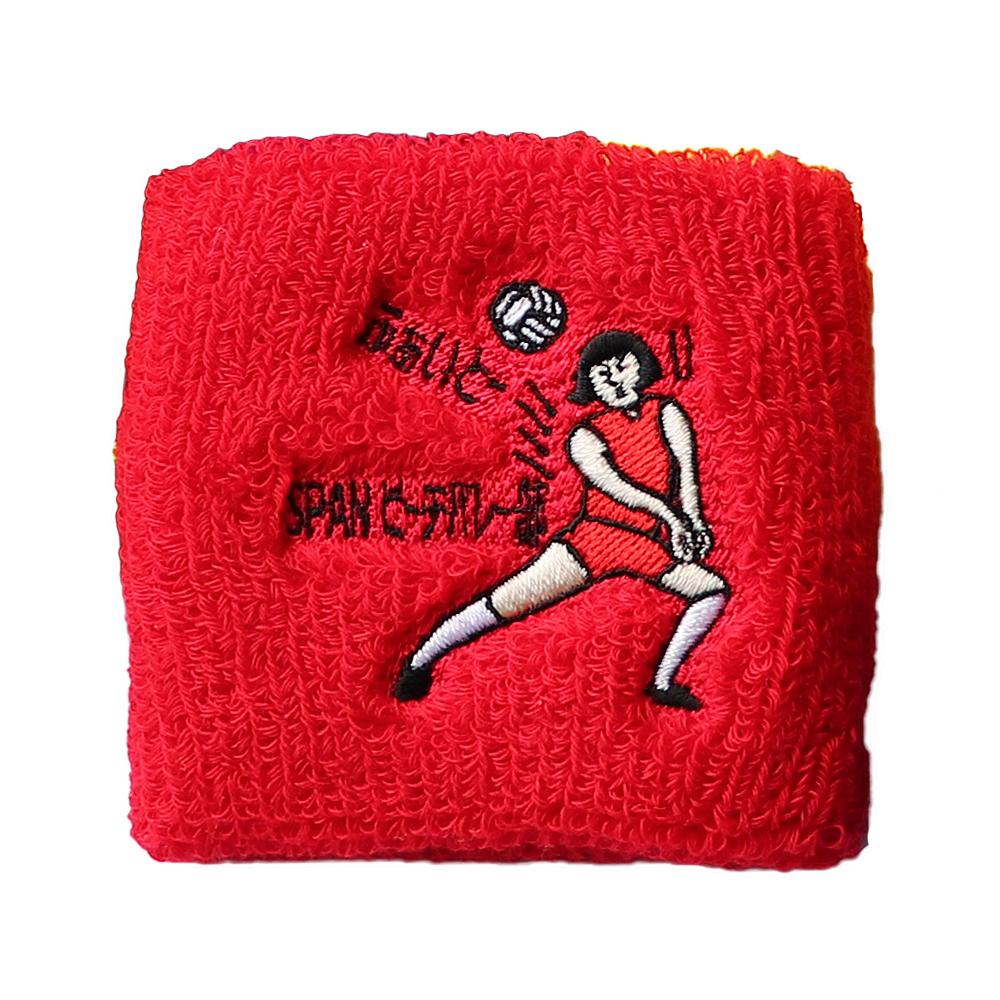 【17100】オリジナル刺繍/M1-21 赤/Fサイズ