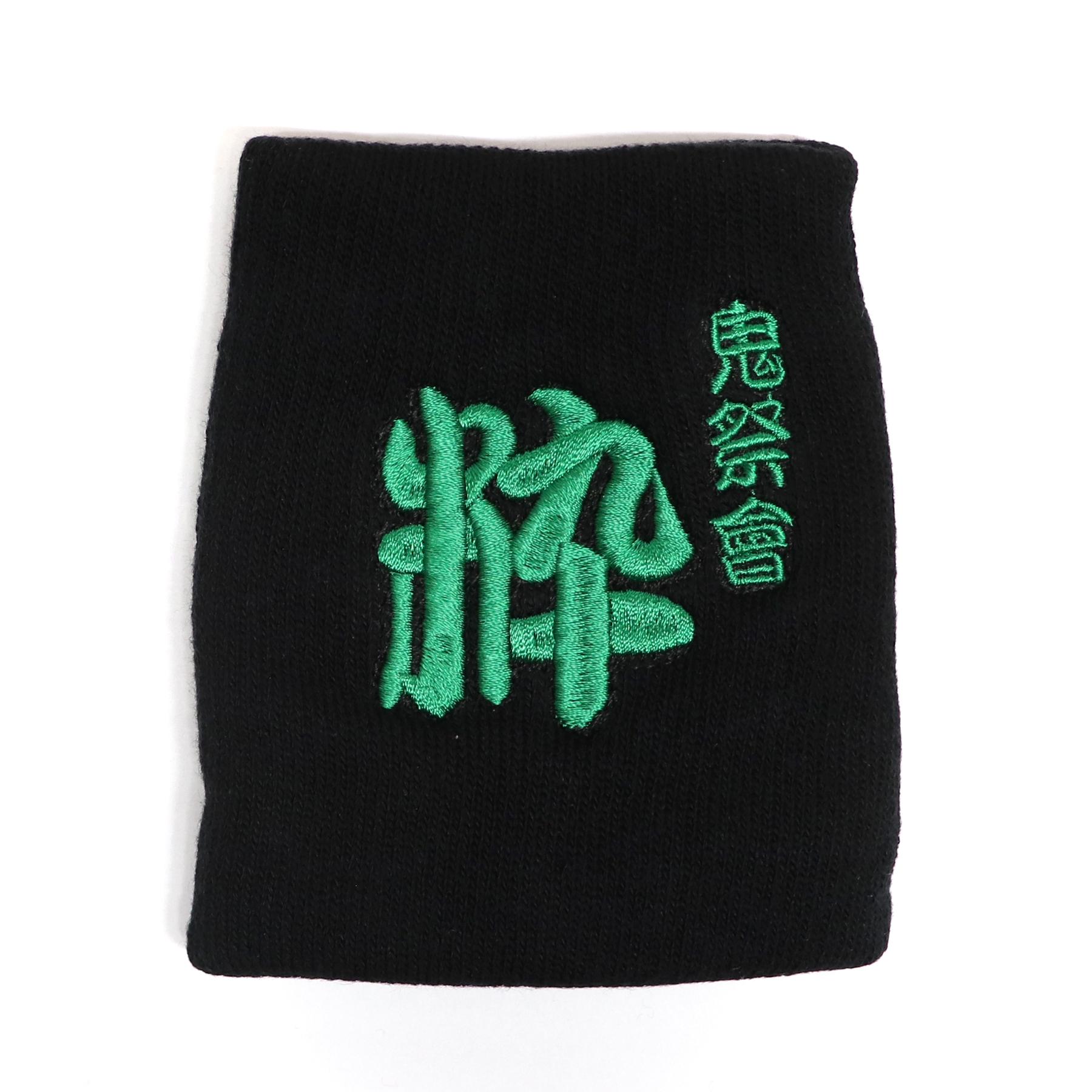 【15576】フォント刺繍/黒/MSサイズ