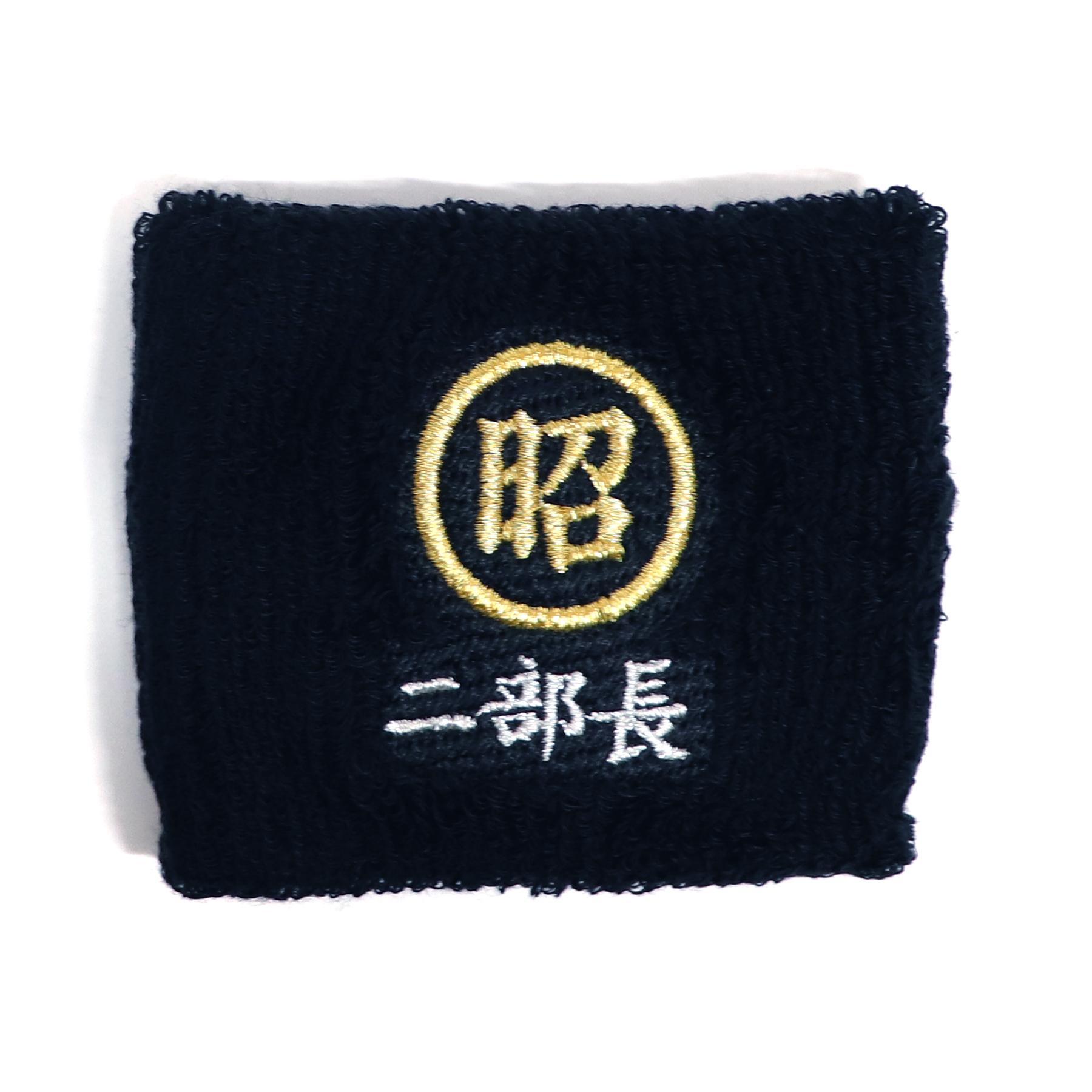 【17351】チーム刺繍/M1-2 黒/Fサイズ