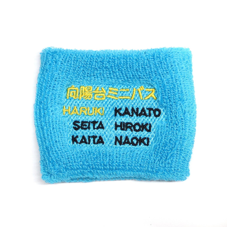 【17568】チーム刺繍/M1-61 タ-コイズブル-/Fサイズ