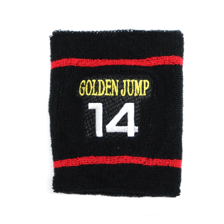 【17720】チーム刺繍/LN-L01 黒地×赤/Lサイズ